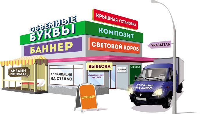 Заказы на производство наружной рекламы интернет кафе реклама фото